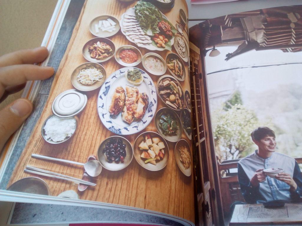 Livres de recettes coréennes de Fabien Yoon