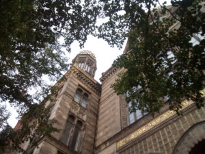 Nouvelle Synagogue, joli bâtiment à à Berlin