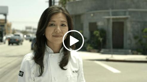 Portrait de la cheffe Niki Nakayama dans Chef's Table