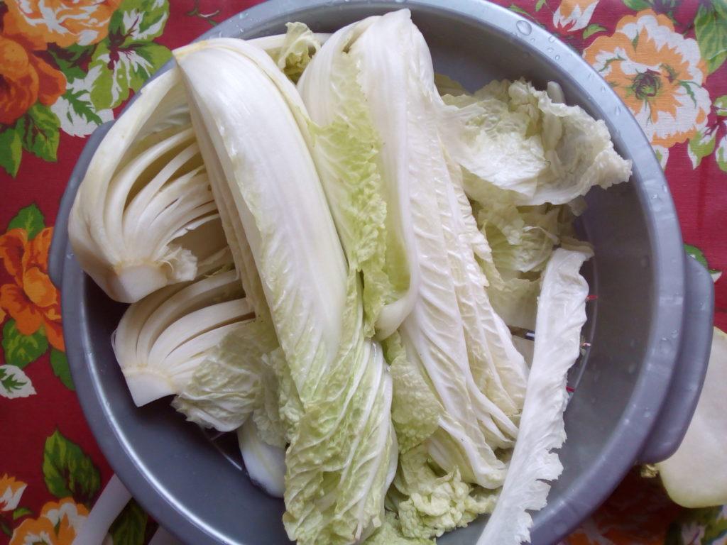 Le chou chinois est le principal ingrédient du kimchi. Si on en trouve du bio, c'est l'aubaine !!