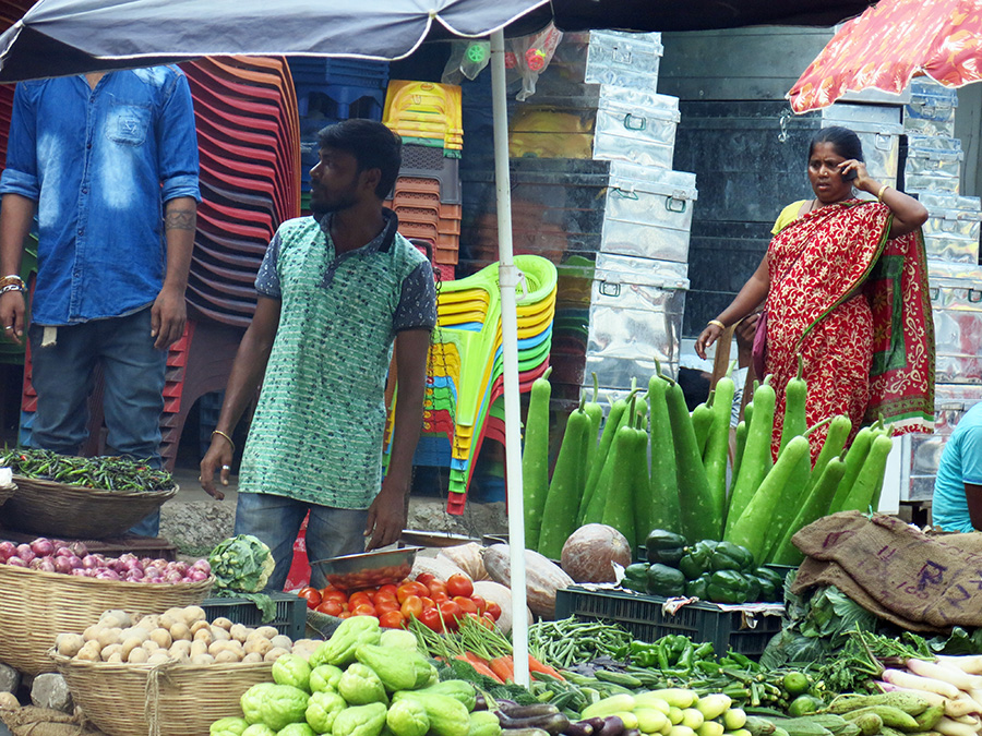 Légumes fort dépaysants aperçus chez des vendeurs de rue !