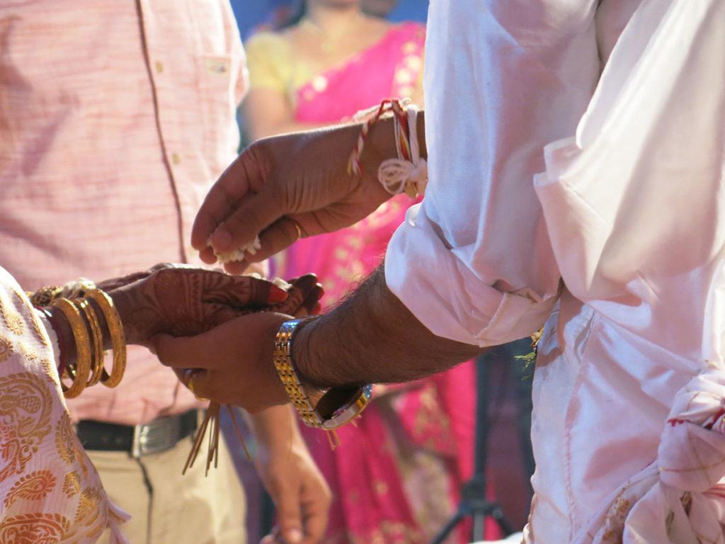 Et qu'est-ce qu'on mange à un mariage indien, alors ??!