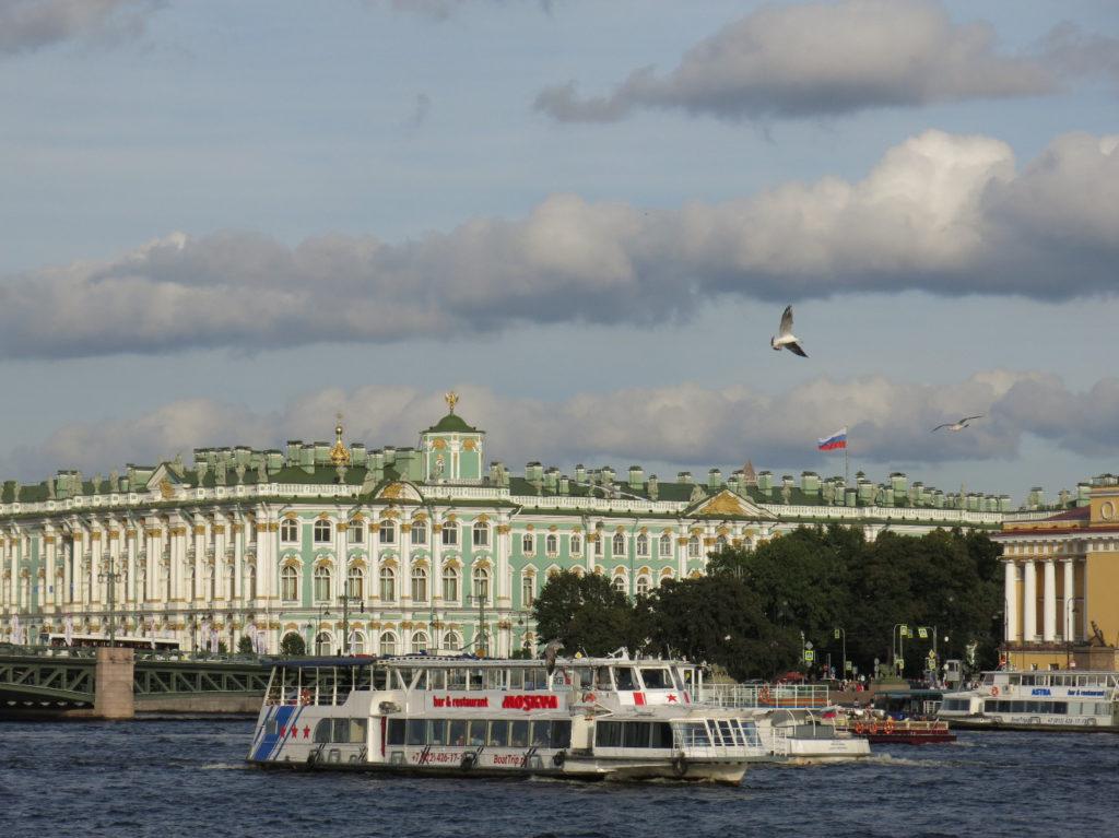 Premiers jours à Saint-Pétersbourg !
