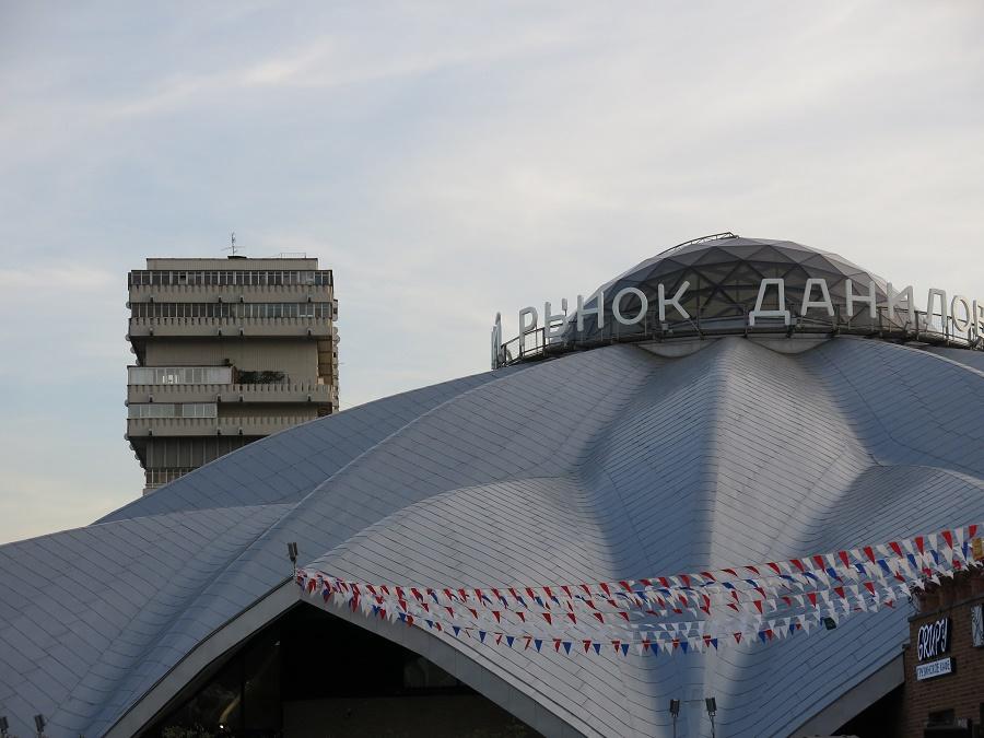 Si mes souvenirs sont bons, la halle Danilovsky a été terminée dans les années 1930. Aujourd'hui, c'est le rdv des hipsters gourmets qui veulent les meilleurs produits de Russie et d'ailleurs !