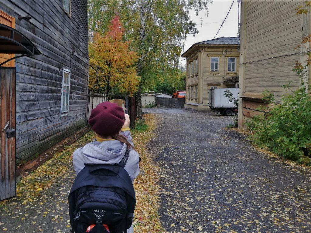 La Sibérie… entre filles ;)