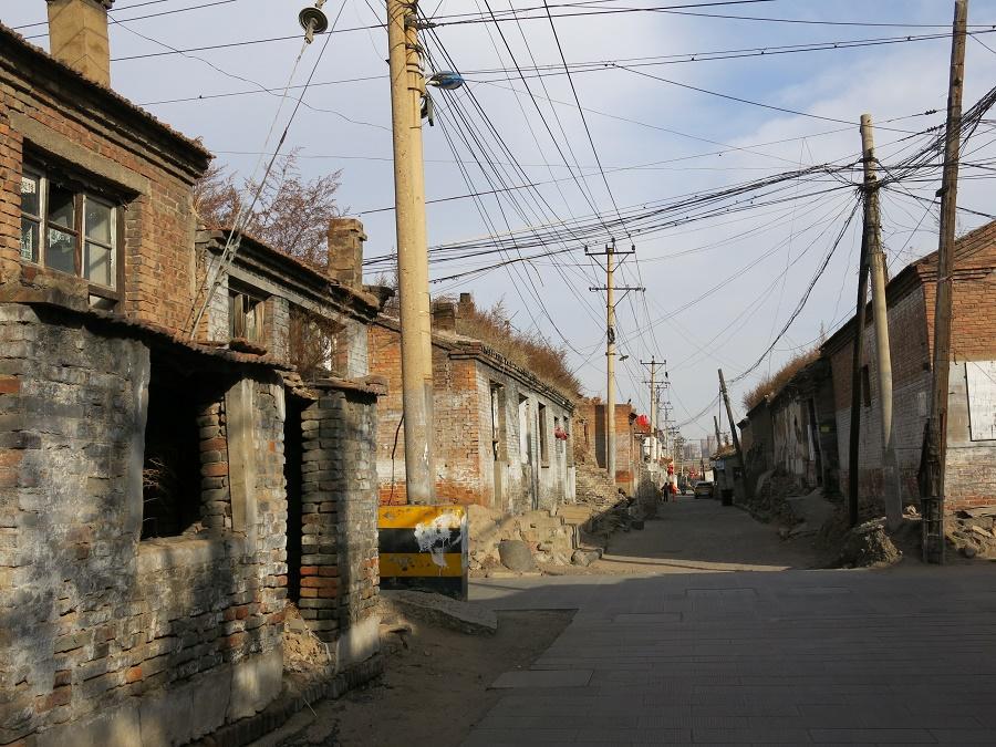 Un aperçu des bidonvilles qui constituent encore une bonne partie de la vieille ville de Datong