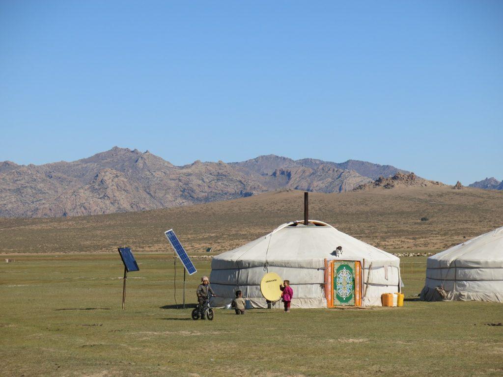 Une semaine chez les nomades de Mongolie