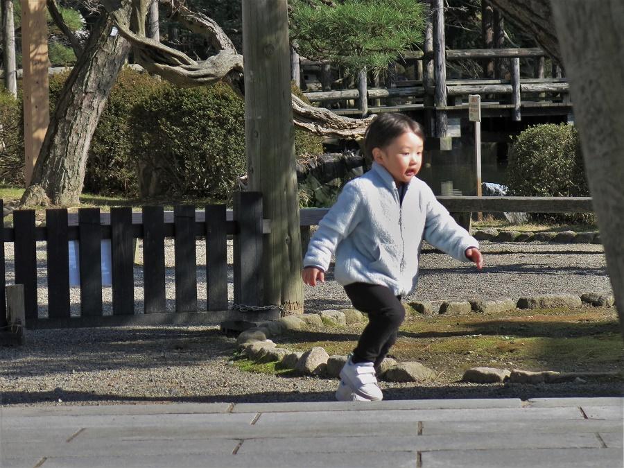 J'ai beaucoup aimé l'atmosphère du parc Hakusan, entre les amateurs de sakura qui flânaient et les enfants qui jouaient.