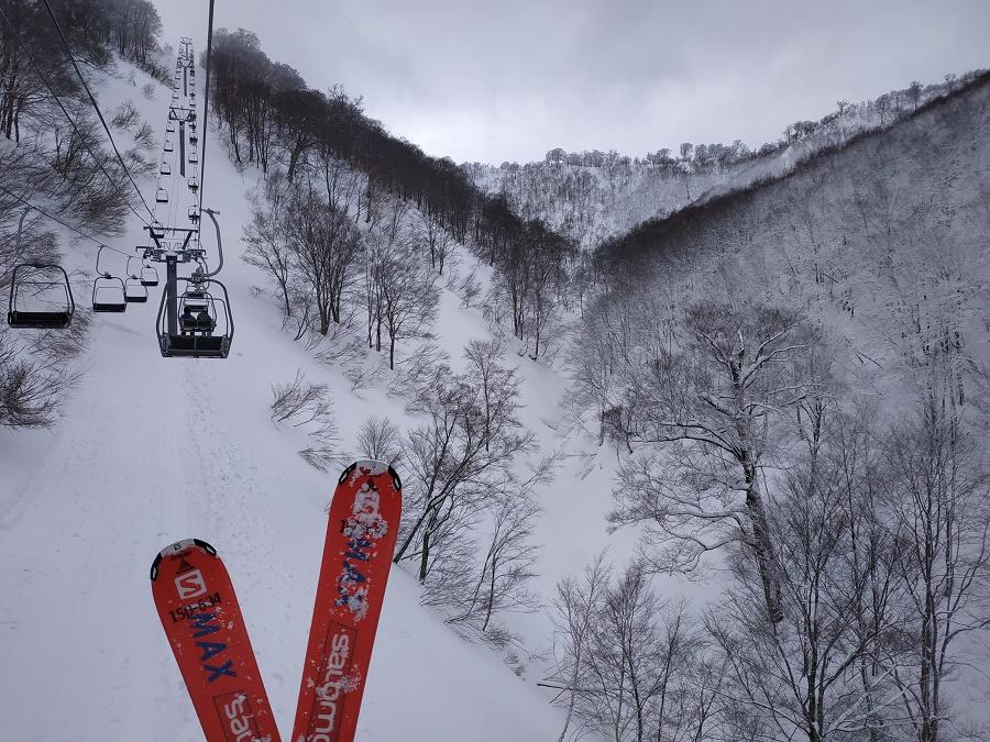 Vous noterez que le matériel de ski loué à Gala est de la marque française Salomon. Cocorico !!