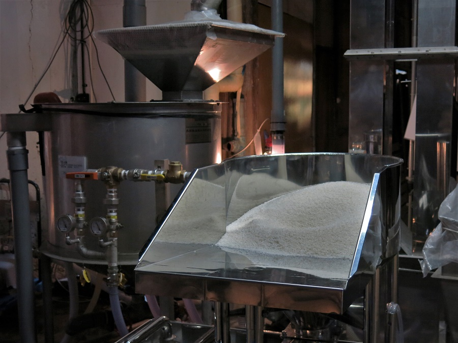 La qualité du riz, principal ingrédient du saké, est primordiale dans la qualité du produit fini.