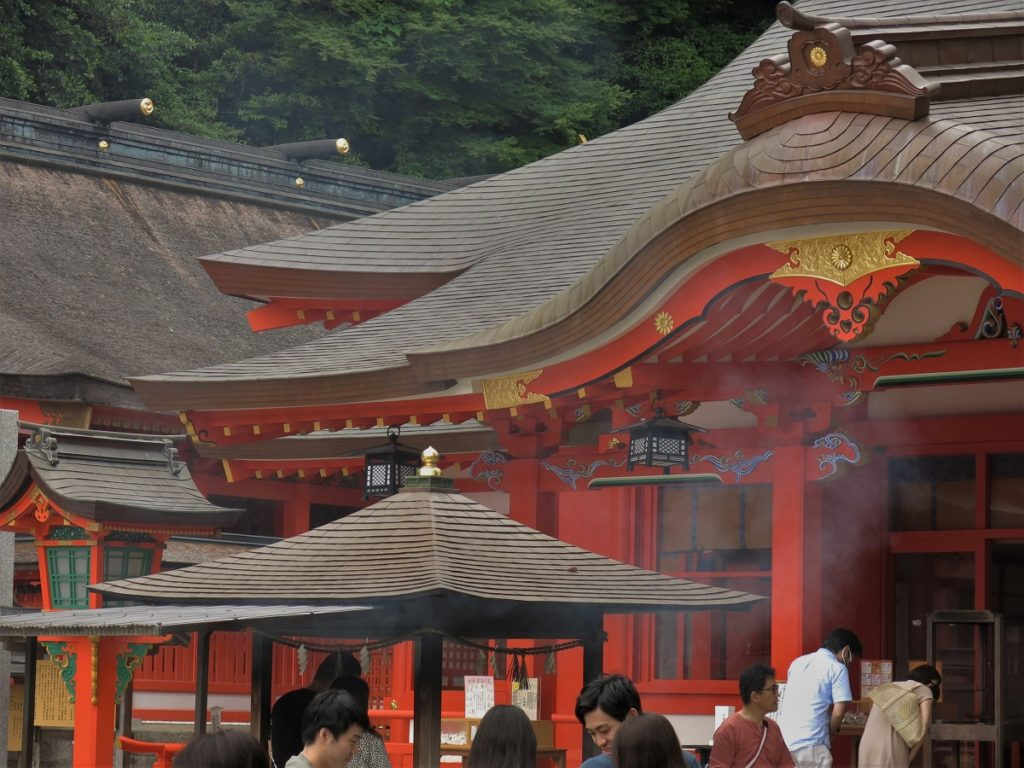 Suite et fin du Kumano Kodô : jusqu'au Pacifique !